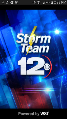 Free Storm Team 12 cell phone app
