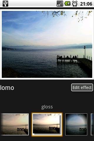 Free Photo Effects cell phone app