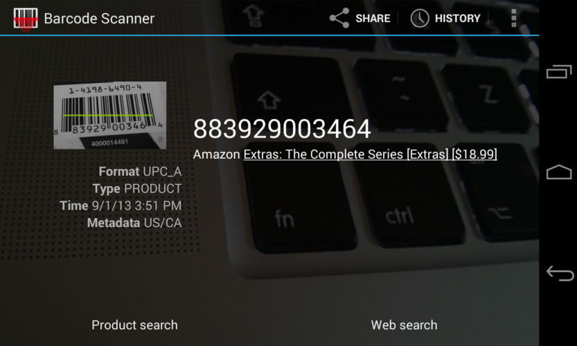 Barcode Scanner screenshot 5