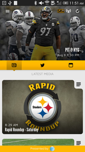 Pittsburgh Steelers screenshot 2
