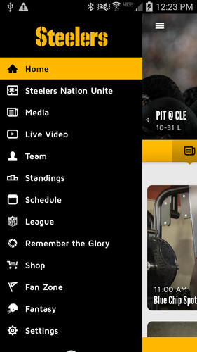 Pittsburgh Steelers screenshot 3