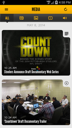 Pittsburgh Steelers screenshot 5