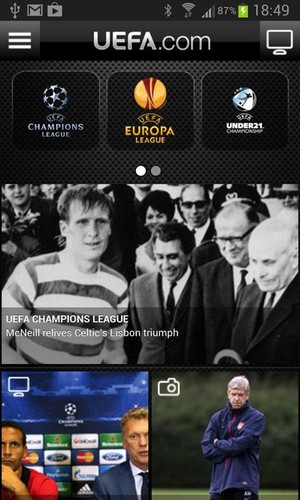 Free UEFA.com full edition cell phone app