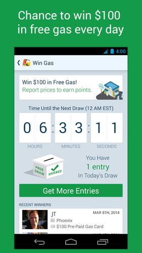 GasBuddy - Find Cheap Gas screenshot 3