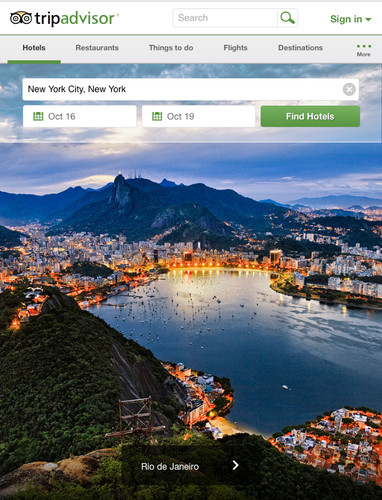 Free TripAdvisor Hotels Flights cell phone app