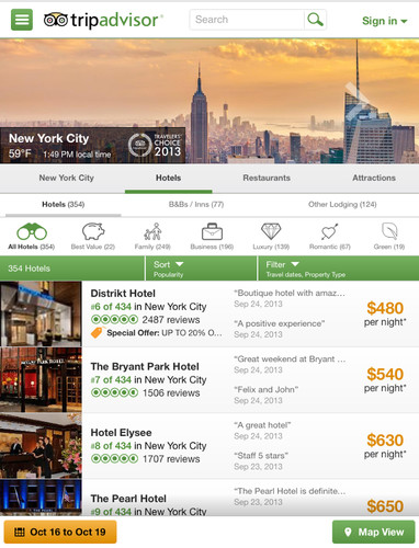 TripAdvisor Hotels Flights screenshot 2