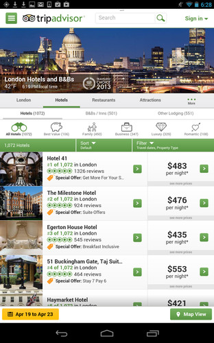TripAdvisor Hotels Flights screenshot 8