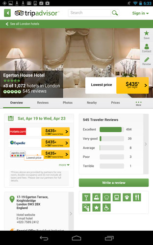 TripAdvisor Hotels Flights screenshot 9