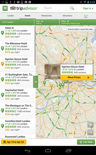TripAdvisor Hotels Flights screenshot 11
