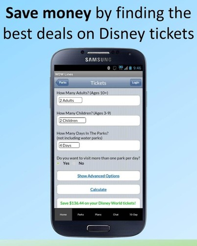 Disney World Lines screenshot 5