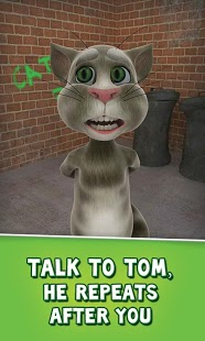 Free Talking Tom Cat cell phone app