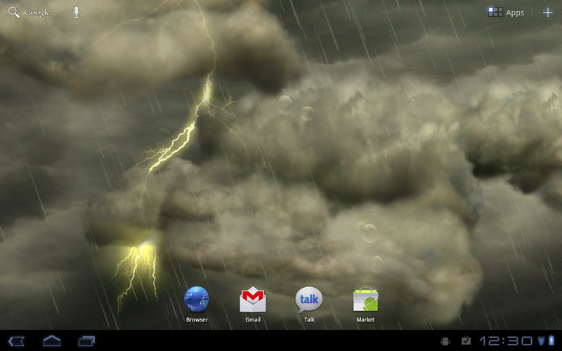 Free Thunderstorm Free Wallpaper cell phone app