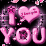 Pink I Love You Live Wallpaper