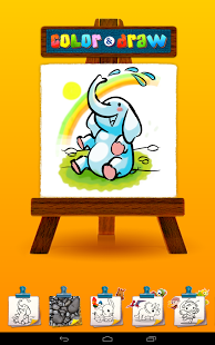 Color & Draw for kids HD screenshot 2