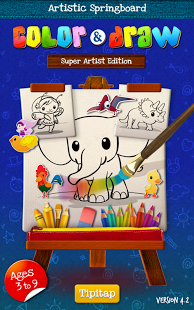 Color & Draw for kids HD screenshot 6