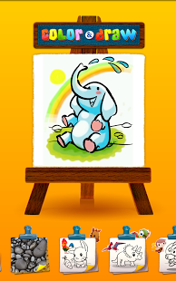 Color & Draw for kids HD screenshot 7