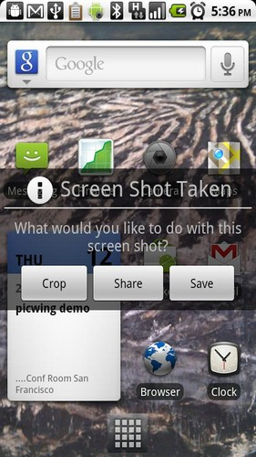 Free Screenshot It cell phone app
