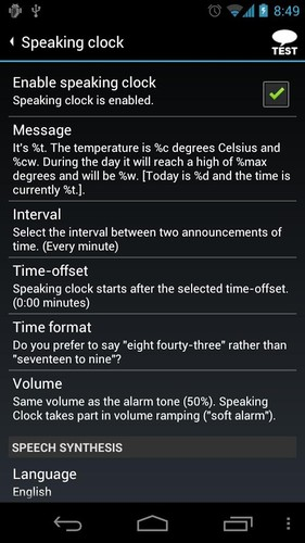 AlarmDroid (alarm clock) screenshot 7