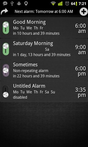 AlarmDroid (alarm clock) screenshot 8