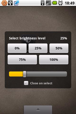 Brightness Level screenshot 2