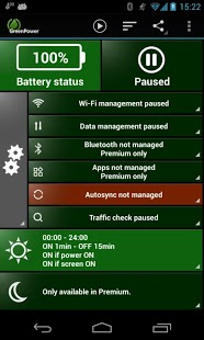 GreenPower Battery Saver Free screenshot 2