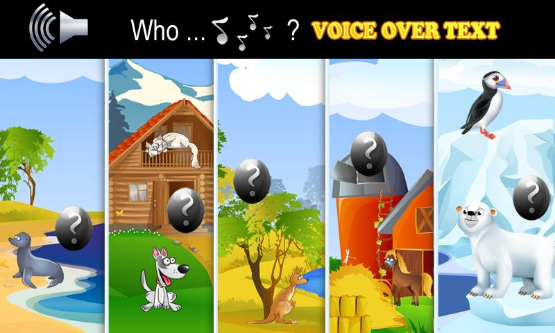 Kids Animals Game screenshot 11