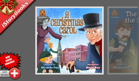 Free Christmas Story Books cell phone app