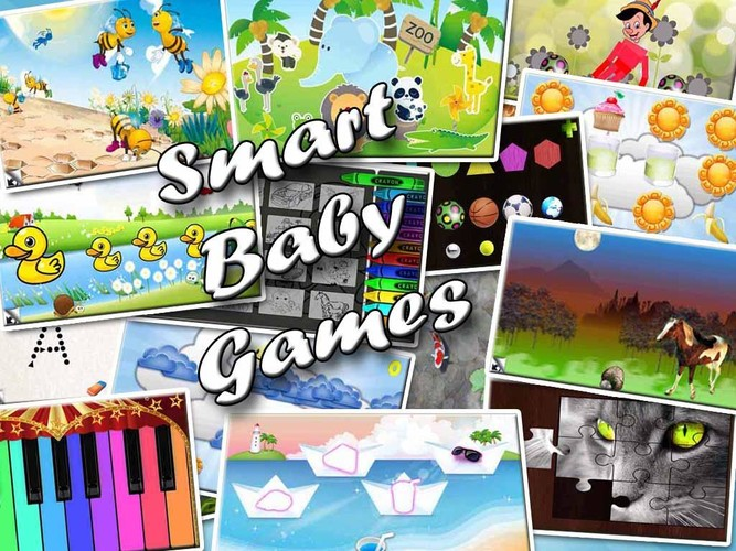Free Smart Baby Games cell phone app