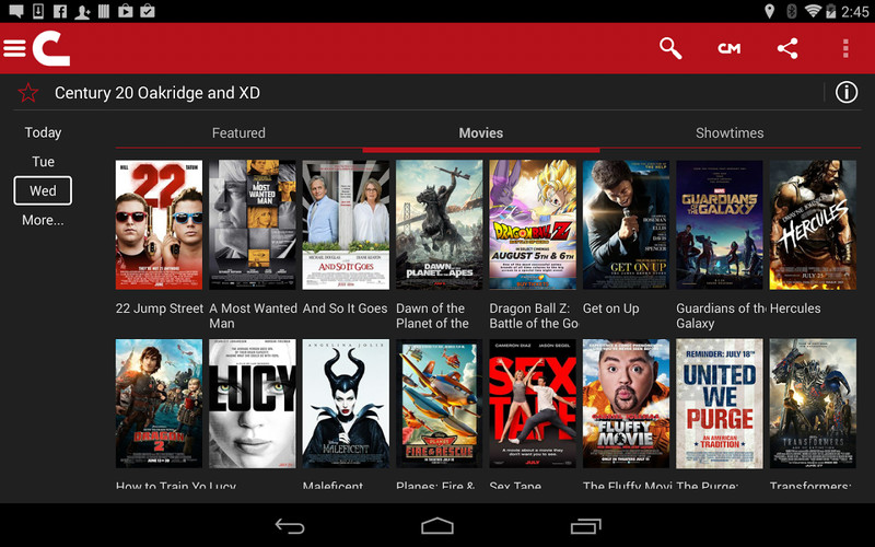 Free Cinemark Theatres cell phone app