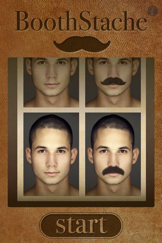 Free BoothStache cell phone app