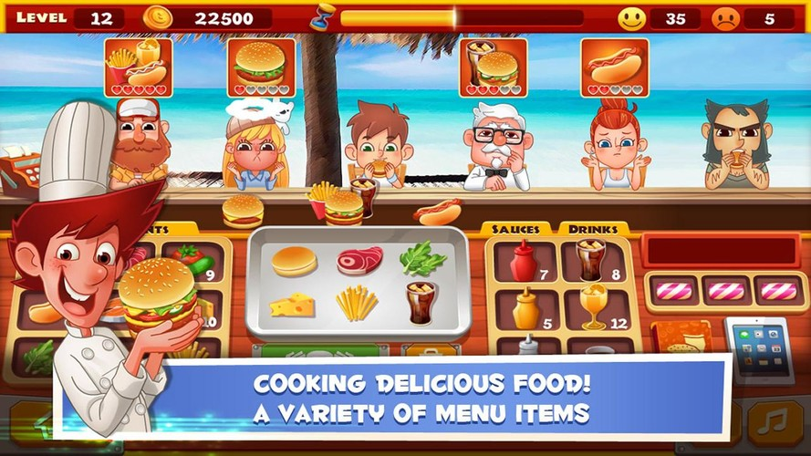 Free Star Chef : Yummy Burger cell phone game