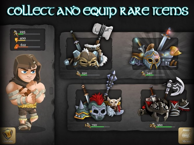 Free Epic Empire: A Heros Quest cell phone game