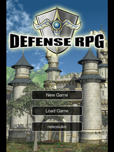 Free Defense RPG cell phone game