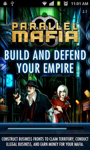 Free Parallel Mafia MMORPG cell phone game
