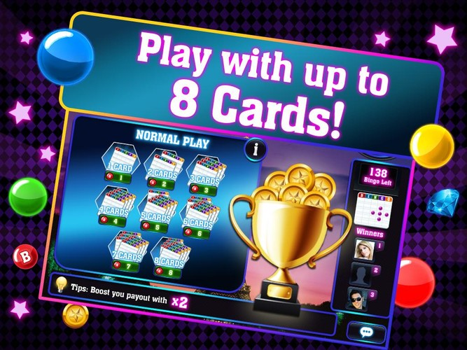 Free Bingo City Tour cell phone game