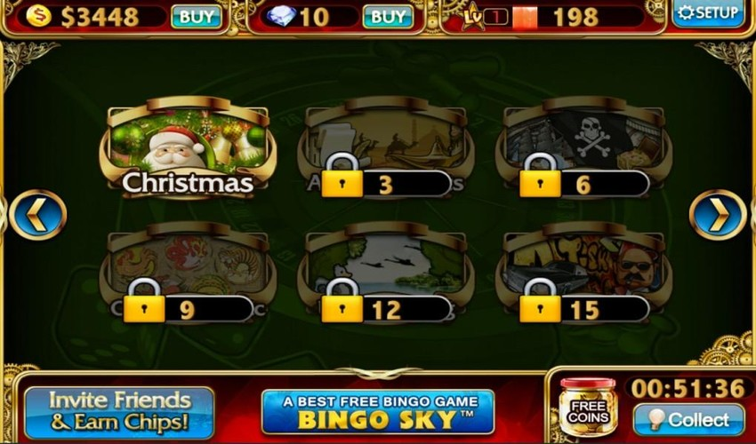 Free Slots City - Slot Machines cell phone game