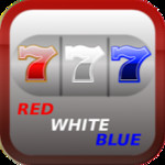 Red White Blue 7 Slot Machine
