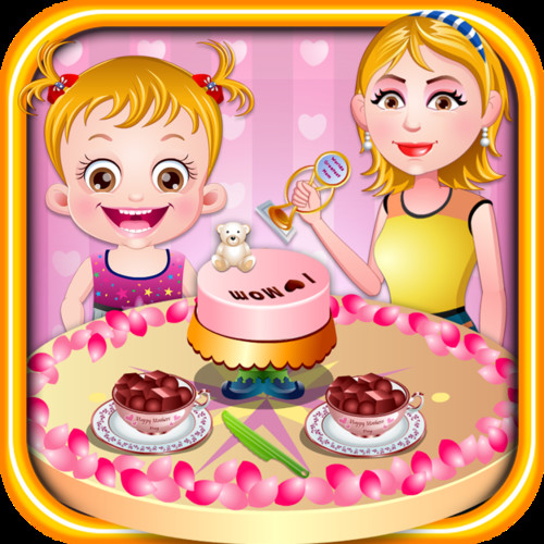 Free Baby Hazel Mothers Day cell phone game