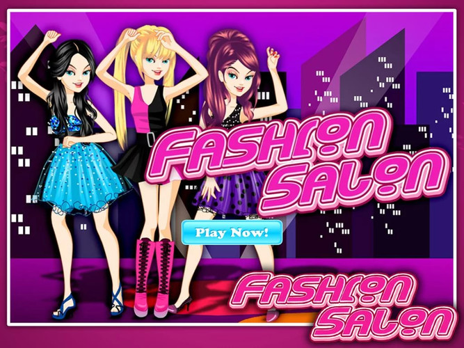 Free DressUp Fashion Salon cell phone game