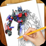 Draw Robots Transformers