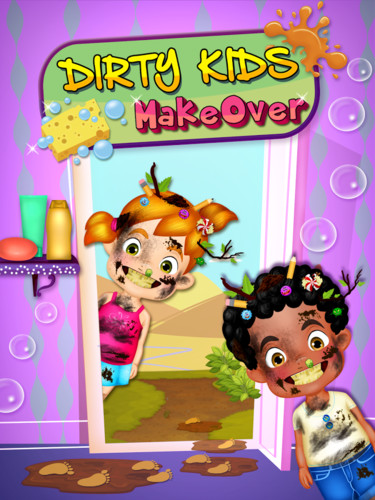 Free Dirty Kids Makeover cell phone game