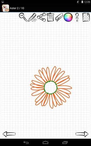 Learn to Draw Exotic Flowers screenshot 2
