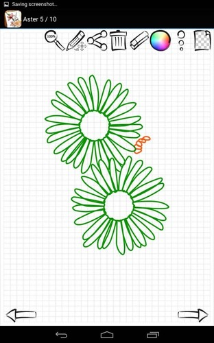 Learn to Draw Exotic Flowers screenshot 4