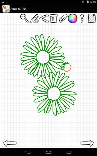 Learn to Draw Exotic Flowers screenshot 5