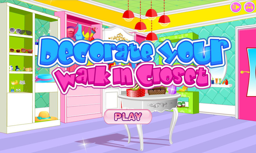 Decorate your walk-in closet screenshot 2