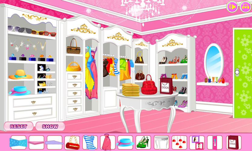 Decorate your walk-in closet screenshot 3
