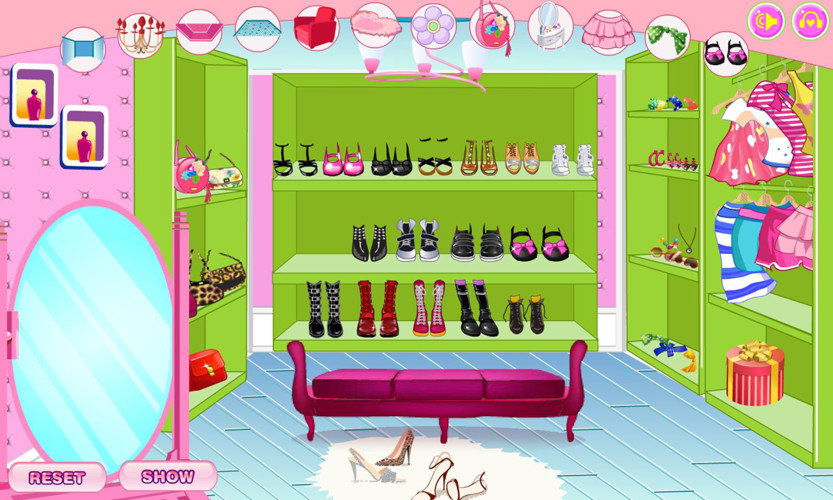 Decorate your walk-in closet screenshot 5