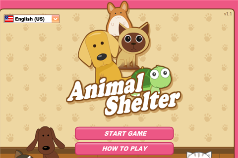 Free Animal Shelter cell phone game