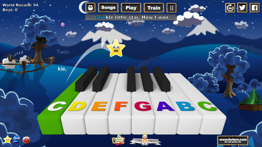 Music Keys screenshot 2