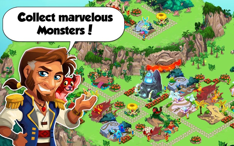 Free Monster Story by TeamLava™ cell phone game